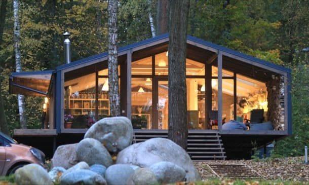 Casa DUBLDom 2.110: proyecto adaptado para prefabricación