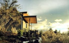 Desert Rain House: vivienda sostenible en Oregon