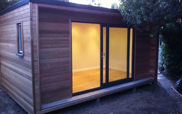 Caseta de jard n en madera certificada fsc y de dise o contempor neo - Caseta exterior jardin ...