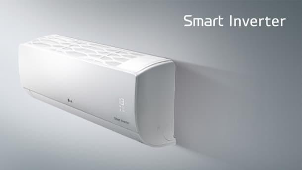 aire acondicionado LG inverter