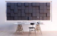 BAUX 3D Pixel: paneles acústicos para paredes y techos