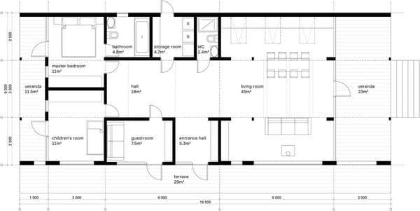 plano-planta-dubldom-casa-prefabricada-en-moscu