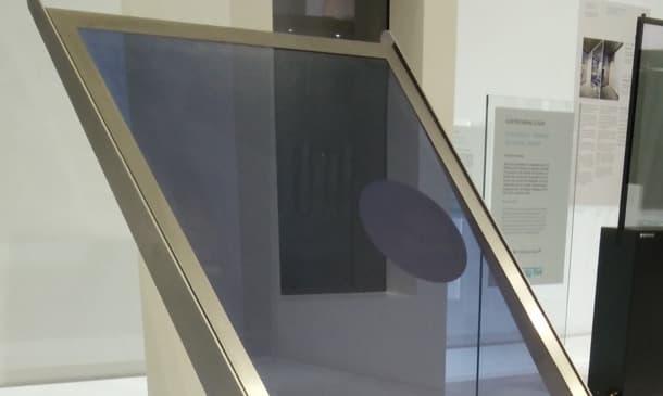 vidrio electrocrómico de varios colores