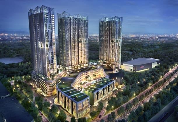 desarrollo urbano EcoSky Kuala Lumpur