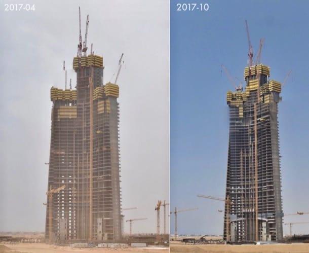 Jeddah Tower 2017 abril octubre