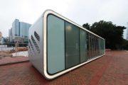 Alpod: módulo prefabricado de diseño futurista
