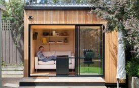 BackYard Room: casetas prefabricadas para el jardín