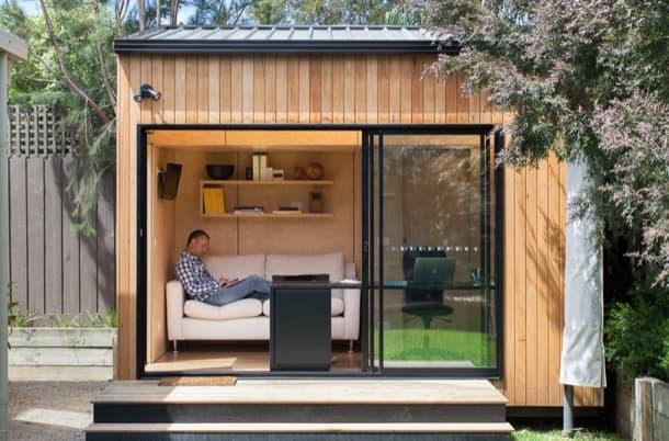 Casetas de jard n byr con acabados ecol gicos y buen for Casetas aluminio para terrazas
