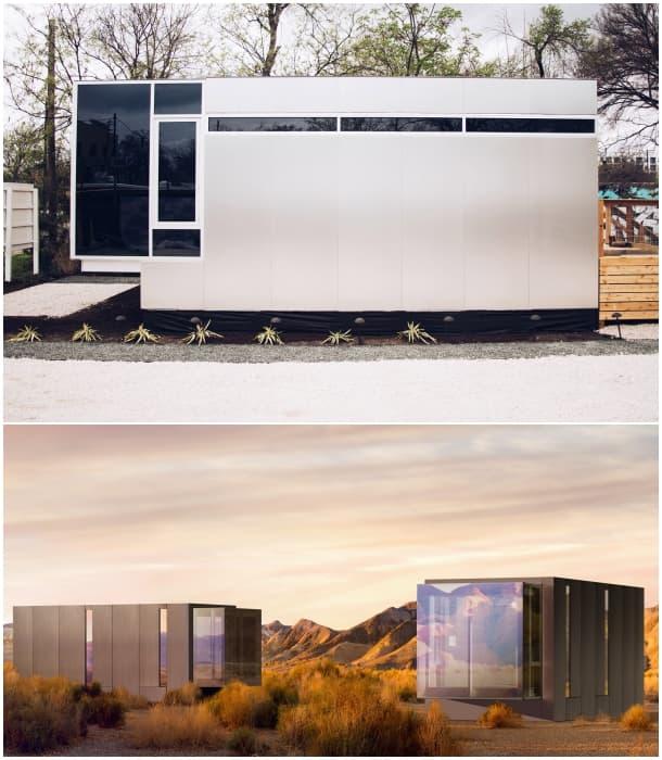 exterior micro vivienda prefabricada