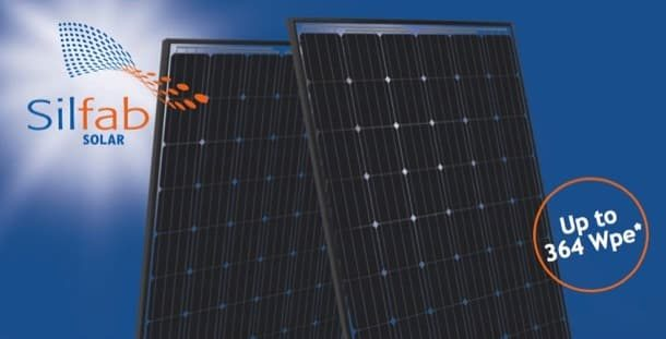 Silfab: panel fotovoltaico de doble cara