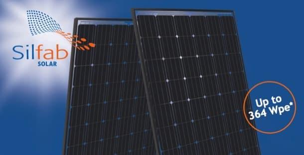 panel solar bifacial Silfab