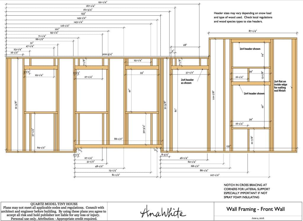 Planos de la casa diminuta quartz construida por una for Programa planos casas