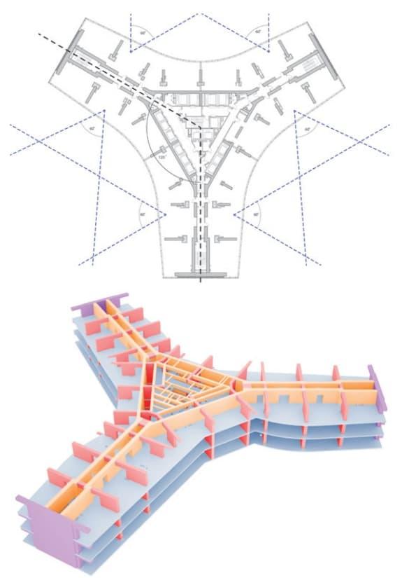 plano-planta-estructura-jeddah-tower
