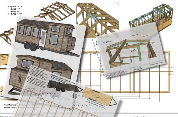 planos de la casa diminuta Quartz