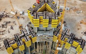 Estado de las obras de la Jeddah Tower