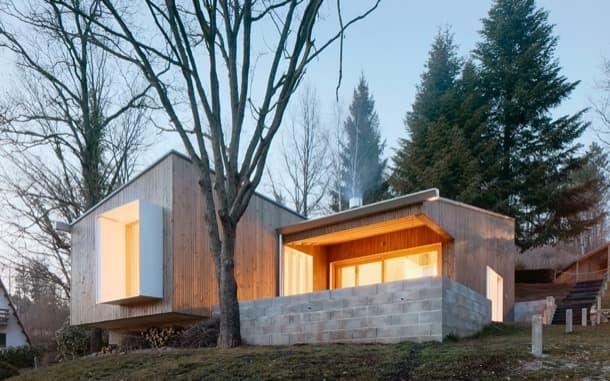 Cottage casa de paneles prefabricados