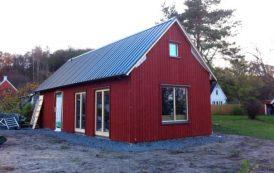 Dalåsen: cabaña prefabricada en kit, por Arvesund