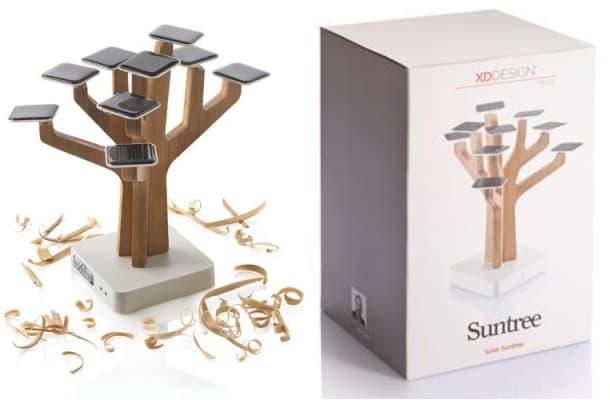 cargador solar Suntree