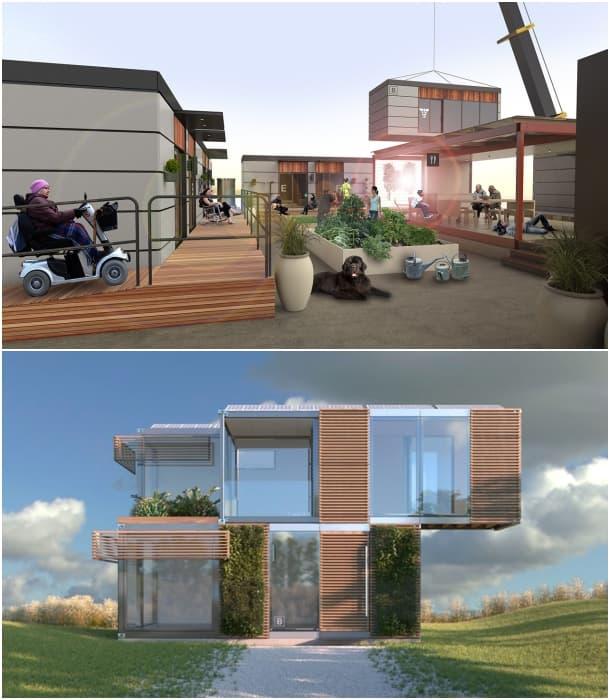 casas modulares Blokable