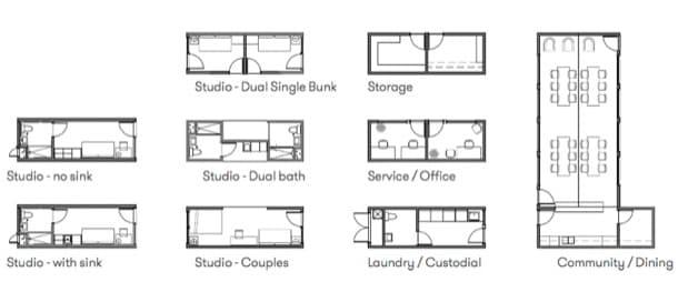 configuraciones casas modulares Blokable