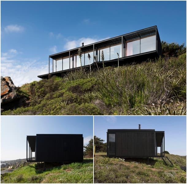 fachadas vivienda modular transportable Chile