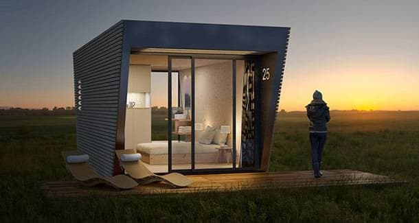habitación para glamping In-Tenta