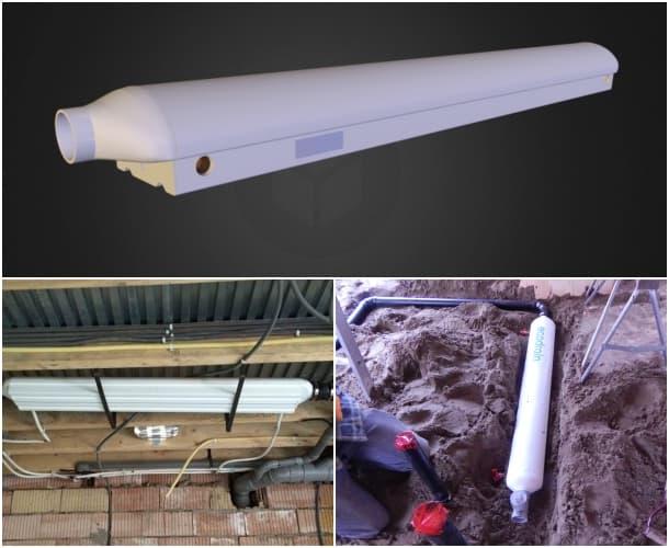 intercambiador de calor ecodrain instalacion