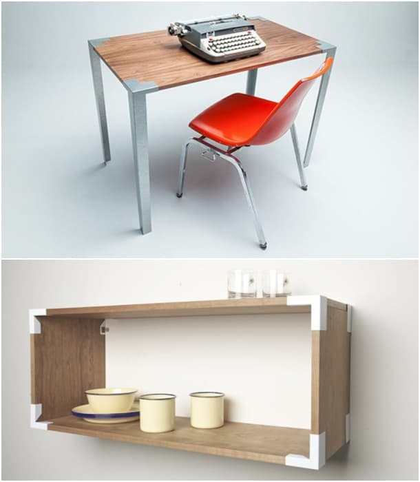muebles reciclables Soapbox