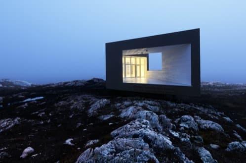 refugio arquitectónico Fogo Long Studio Todd Saunder
