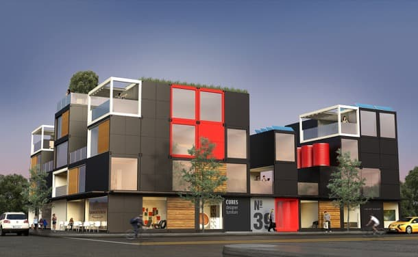 viviendas con módulos Blokable