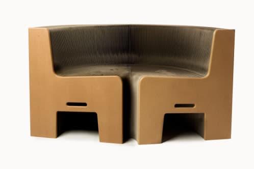 FlexibleLove silla flexible ecologica de papel kraft