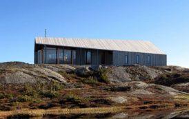 Gapahuk: cabaña prefabricada diseñada por Snohetta
