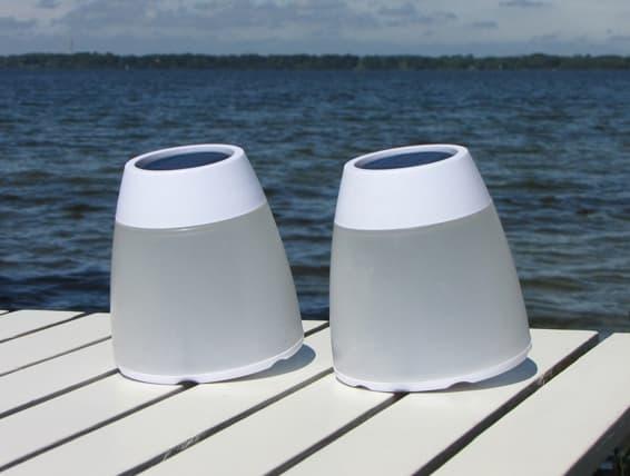 Turner lampara fotovoltaica Ono Design