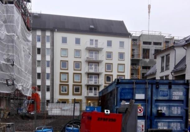 bloque de apartamentos con energía solar Linköping