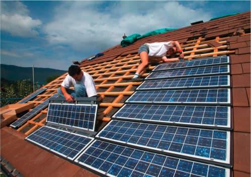 discretos paneles solares Imerys