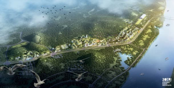 Ciudad Bosque de Liuzhou - Stefano Boeri