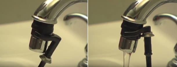 Smart Faucet - modo flujo continuo