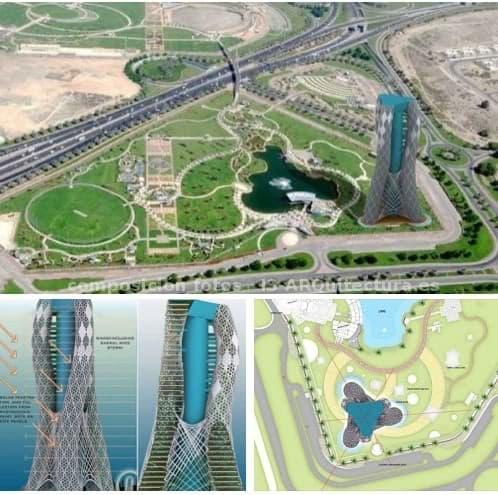 Torre Oasis Dubai para cultivo vertical