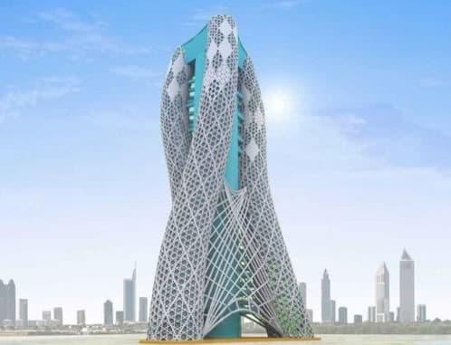 rascacielos para cultivo vertical