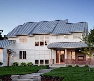 casa con tejado solar de Forward Labs