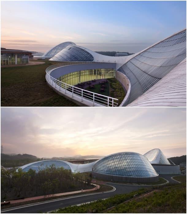 exteriores - Ecorium del Instituto Nacional de Ecologia