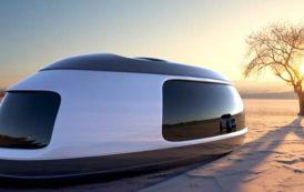 Pod futurista para acampar en cualquier parte