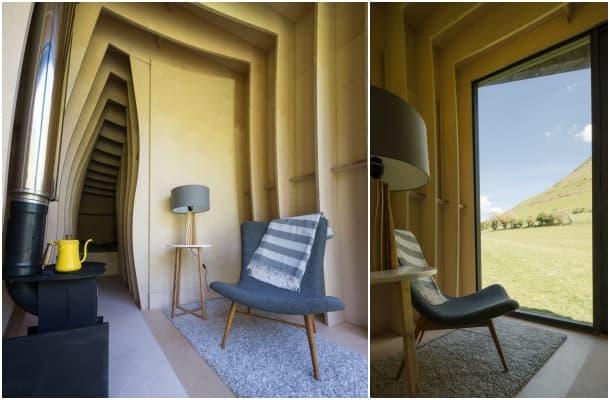 interior Cueva de Arturo Miller Kendrick Architects