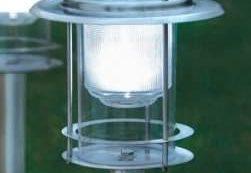 Lámpara solar para exteriores