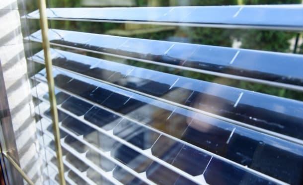 persiana fotovoltaica SolarGaps