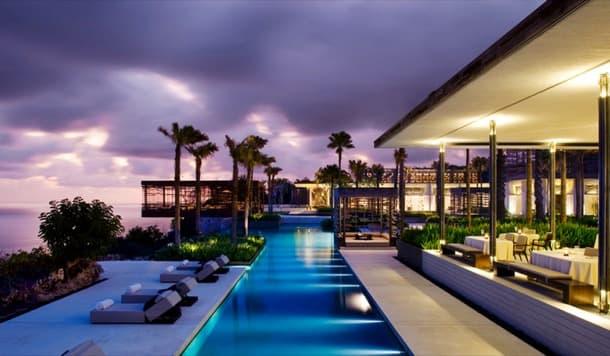 Alila Villas Uluwatu Bali de WOHA Architects