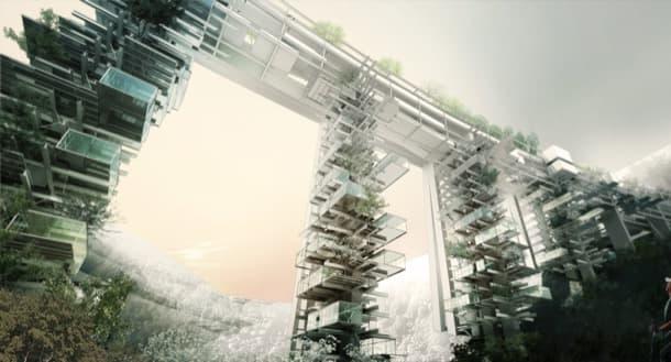 Solar Park South proyectos en puente en desuso