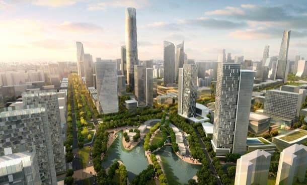 ampliación del CBD de Pekín SOM