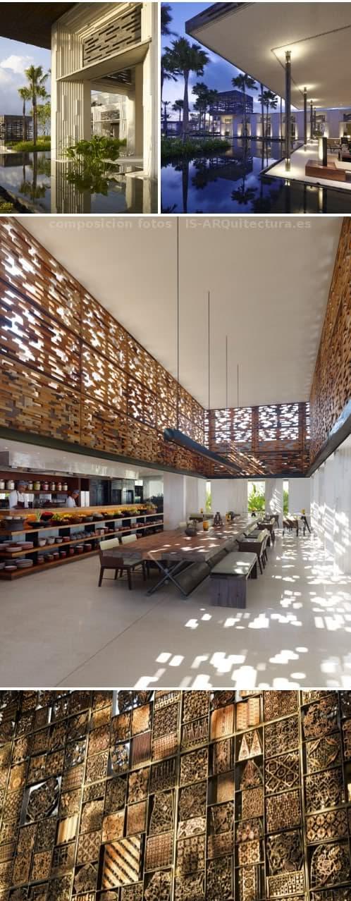 complejo hotelero en Bali - detalles