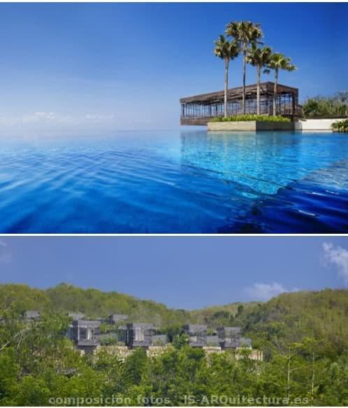 complejo hotelero sostenible en Bali